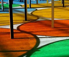 Monumenta 2012, Grand Palais, Paris (blafond) Tags: colors colours couleurs round artcontemporain buren 2012 grandpalais ronds multicolore monumenta