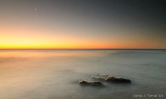 Sunrise (Carlos J. Teruel) Tags: sunrise mar agua nikon mediterraneo paisaje tokina murcia amanecer 11mm rocas marinas d300 filtros 2011 calblanque 1116 murciamurcia tokina1116 xaviersam carlosjteruel