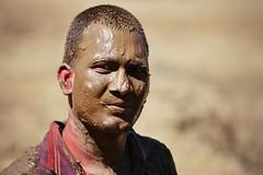 Mud or Chocolate???? (Sougata2013) Tags: portrait people india face fun nikon expression indian celebration enjoy mandi holi himachalpradesh nikond3200 iitmandi
