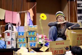 台湾反服贸协议学生结束占领立法院
