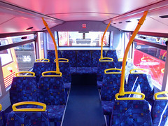 GAL MHV17 - BU16OZE - INTERIOR - BV BUS GARAGE - THUR 28TH APR 2016 G (Bexleybus) Tags: bus london ahead volvo interior garage go egyptian belvedere bv bodywork mcv goahead evoseti mhv17 bu16oze