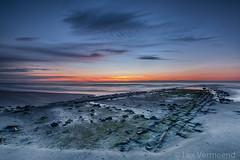 Vlieland, the Netherlands (Lex Vermeend Photo's) Tags: sunset nature clouds sunrise island dawn vlieland wadden noordzee northsea