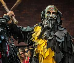 Another morris dance! (tom ballard2009) Tags: black yellow festival dancers folk dorset morris wimborne mythago