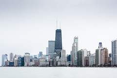 Chicago (ramsey ksar photography) Tags: chicago skyline buildings cloudy skyscrapper