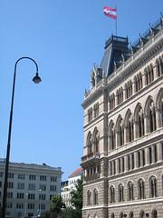 Wiener Rathaus (Vienna City Hall) (Wiebke) Tags: vienna wien sterreich austria europe architecture architektur rathaus viennacityhall cityhall wienerrathaus neogothic neogothicarchitecture