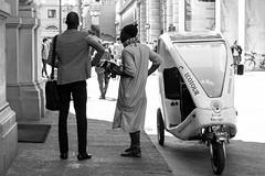 Different style (Manu82ela) Tags: street city people blackandwhite white black nikon strada photos streetphotography persone biancoenero nikond3200 blackwhitephotos