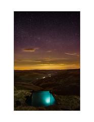 A Kinder Camp (danjh75) Tags: camping stars nikon derbyshire peakdistrict kinderscout