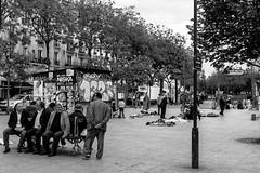 IMG_1304 (Nikan Likan) Tags: street white black paris art photography dc place jean sigma f18 ferrat | 2016 mnilmontant 1835mm hsm