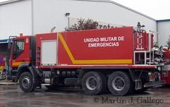 IVECO TRAKKER 350 UME (Martin J. Gallego. Siempre enredando) Tags: emergency ume iveco emergencia emergencyvehicles trakker emergencias ivecotrakker protecfire unidadmilitardeemergencias