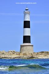 Faro den Pou (Xavier Mas Ferr) Tags: lighthouse faro eivissa far formentera mediterraneansea balears illadesporcs farodenpou esfreusdeivissaiformentera