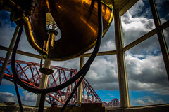 The world's smallest working Light Tower!! (Rotundus III) Tags: lightower light tower north queensferry forth rail bridge scotland northqueensferry fife lighthouse history historic riverforthriver forthforth bridgequeensferry crossingpassagefife coastal carlingnose
