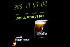285 Days to Go (Geoff Blondahl) Tags: nikon guinness 500 countdown project365 d810 stpatricksdayclock