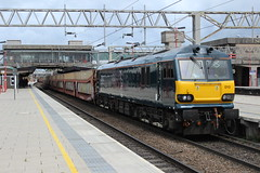 92010 (6Z71) (Worcestershed) Tags: caledonian class92 92010