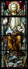 Christ in Majesty (Hardman & Co, 1872) (Simon_K) Tags: cambridge church university churches colleges stmichael cambridgeshire eastanglia cambs michaelhouse churchess