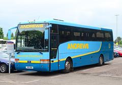 YN51 MHK. (curly42) Tags: travel bus coach andrews transport roadtransport vanhoolalizee scanial94ib yn51mhk