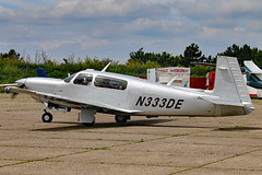 N333DE (GH@BHD) Tags: aircraft aviation mooney m20 northweald m20m northwealdairfield n333de