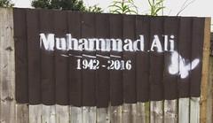 Muhammad Ali Tribute (louiseh24) Tags: streetart art june birmingham ali brum birminghamuk muhammadali 2016 thegreatest