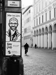 Via Marsala angolo Via Indipendenza (lorenzog.) Tags: bw italy bicycle nikon bologna d300 viaindipendenza 2015 viamarsala bolognajazzfestival