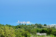Exploring in Turkey (sydneykmking) Tags: ocean travel sea castle nature beautiful architecture turkey ruins mediterranean outdoor ruin turkei kizkelesi