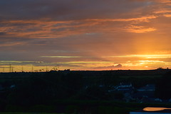 """Anglesey Island Sunset image by """" Pwllgwyngyll """" (pwllgwyngyll) Tags: ocean sunset sky cloud sun water field wales landscape seaside photos outdoor dusk north images shore views mon sunsetting skyview llanfairpwllgwyngyllgogerychwyrndrobwllllantysiliogogogoch anglesey llanfairpg pwllgwyngyll llanfairpwll ynys sunsetview a llanfairpwllgwyngyll sunpicture 2w0daa"""