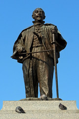 大友宗麟公 (katsuzin13) Tags: oita 大名 銅像 大分 キリシタン 大友宗麟 戦国武将 大友義鎮