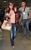 Amy Childs arrives at Dublin Airport in a stylish outfit Dublin, Ireland