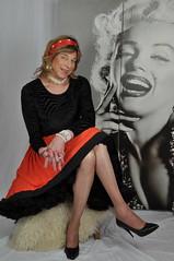 A lovely photoshoot. (sabine57) Tags: drag tv cd crossdressing tgirl transgender tranny transvestite crossdresser crossdress petticoat transvestism mybesttrannypic
