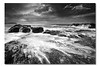 Claws ([ Kane ]) Tags: ocean blackandwhite seascape wet water clouds canon photography gold coast blackwhite rocks surf waves australia pacificocean filter qld queensland 5d kane 1740 claws goldcoast gnd nd8 kanegledhill kanegledhillphotography