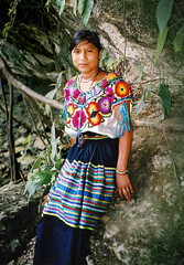 Traditional Dress, Chiapas, Mexico (elpedalero) Tags: travel viaje latinamerica americalatina nature girl bicycle stone america children geotagged interesting rocks child maya map embroidery guatemala indian traditional rocky colores submarine latin latinoamerica tropical viagem uniforms colourful geotag recent bicycletouring biketour indigenous centralamerica huipil submarino centroamerica adventurecycling iberoamerica elsubmarino coastalbiketour elpedalero pedalero