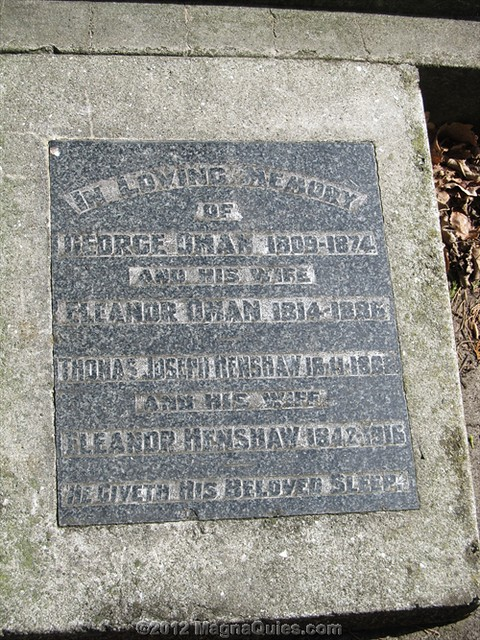 Resting place of Elizabeth YATES - First Mayoress in the British Empire