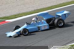 [7] Ron Maydon (Amon F101) (DFGfotografia) Tags: barcelona cars car coche motor catalunya circuit campeonato coches montjuich montmelo vehiculos circuito espíritu circuitdecatalunya clasicos gpmasters circuitcatalunya ronmaydon amonf101 mckopy mckopyxel wwwmckopyxeles