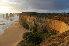 The Twelve Apostles at sunset (cathm2) Tags: travel sunset sea coast australia victoria greatoceanroad twelveapostles