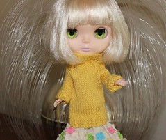 Giselle's lovely yellow sweater