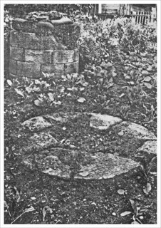 Remains of Lenton Priory - a part of the Calefactorium or Warming House : photo circa 1929