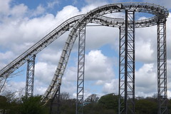 Side View od Drenched (CoasterMadMatt) Tags: park uk greatbritain bridge sky west wales out photography amusement spring day ride photos unitedkingdom britain united great cymru may vertigo kingdom tourist photograph gb theme amusementpark british leisure rides welsh oakwood sir coaster parc pembrokeshire themepark touristattraction leisurepark attraction narberth 2012 dayout drenched intamin waterride sirbenfro benfro skycoaster west aspro hamdden oakwoodthemepark sir canaston gorllewin canastonbridge coastermadmatt gorllewin waleslargestthemepark parchamddenoakwood