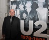 U2 manager Paul McGuinness U2 Manager Paul McGuinness officially opened the photography exhibition U2:1978