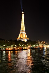 Eiffel Tower at Night (Paris, France)