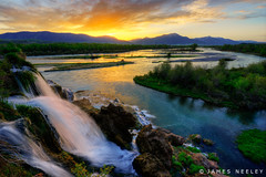 Fall Creek Sunrise (James Neeley) Tags: sunrise landscape nikon idaho snakeriver hdr fallcreekfalls swanvalley d800 photomatix 5xp jamesneeley flickr26