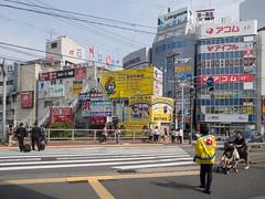 (kasa51) Tags: street city people building sign japan digital cityscape kamakura olympus yokohama omd ofuna 1250mm em5 f3563 mzuiko