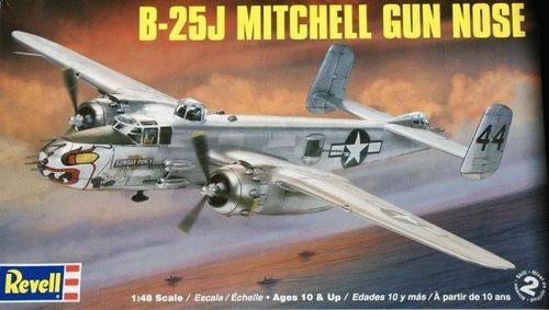 六一儿童节礼物:Revell B-25米切尔(Mitchell)中轻型轰炸机模型$17.92