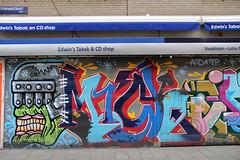 graffiti (wojofoto) Tags: amsterdam oase mickey graffiti streetart oost eersteoosteparkstraat wojofoto nederland netherland holland wolfgangjosten
