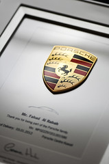 Thanks for Porsche-Kuwait [6/6] (Fahad Al-Robah) Tags: thanks certificate announcement porsche kuwait