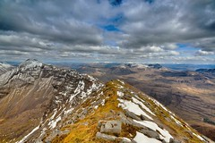 Mullach an Rathain - Liathach, Torridon (Michael~Ashley) Tags: clouds scotland nikon scottish hills munros torridon 3100 liathach