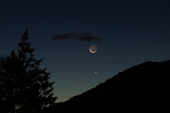 The Moon, Venus & Mercury (mthomson34) Tags: