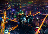 SWFC View (Hendrik Schicke) Tags: china city travel urban canon photography lights nightlights shanghai mark ii citylights 5d glowing sight birdseyeview wfc hendrik nightscenes aerialperspective worldfinancecenter schicke birdseyeperspective