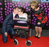Ryan Tubridy, Joanne O'Riordan, Adi Roche The 50th Anniversary of 'The Late Late Show' at RTE Studios Dublin, Ireland