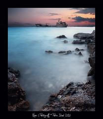 Poros Island (Nikos Thita) Tags: sea seascape color water port marina island photography boat long exposure greece dri poros summer2010 niqos