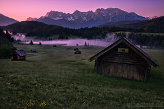 Geroldsee Dawn (alpenbild.de) Tags: wood morning mountain lake mountains alps tree nature water berg forest sunrise landscape bayern bavaria see spring twilight woods nikon wasser natur huette htte meadow wiese berge hut alm dmmerung alpen landschaft wald sonnenaufgang morgen baum alpenglow frhling topaz morgens d800 gebirge krn alpenglhen daemmerung alpengluehen d800e nikond800e