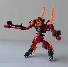Silranthii Immortal (SageThe13th) Tags: lego alien frame zero mecha moble