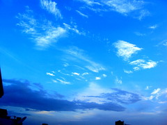 Blue Sky (Vrajeshjani) Tags: travel blue light sunset sky india nature colors beautiful clouds colours bluesky lovely ahmedabad naturephotography travelphotography amdavad incredibleindia naturetravel sonydscw180